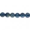 Blue Apatite 6mm Round 29 Pcs Approx